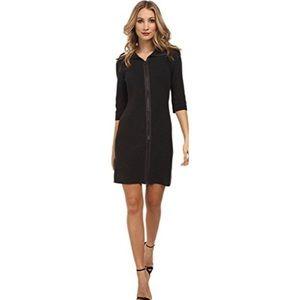 Zip Front Sweater Dress